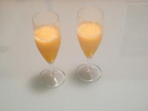 sorbetto mandarino liquore ricetta artigianale fine pasto fatto casa