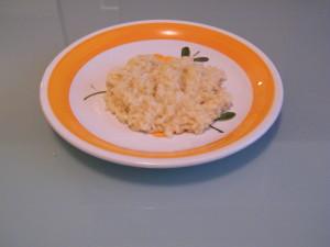 risotto arancia scalogno biologico parmigiano reggiano senza glutine