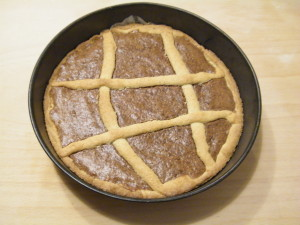 crostata farina mandorle crema nocciole piemonte igp ricetta