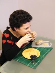 pane rustico casalingo fatto in casa farina integrale macinata pietra