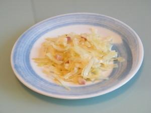 cavolo cappuccio ginepro pancetta cipollotto bianco ricetta