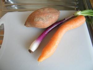 grano kamut verdure ricetta ipocalorica patata dolce cipolla tropea